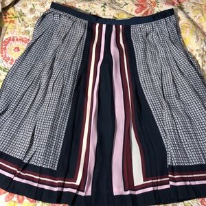 Pleated skirt Lands End Canvas
